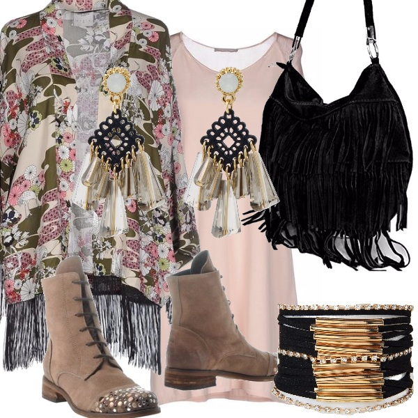 Outfit September bohemien.