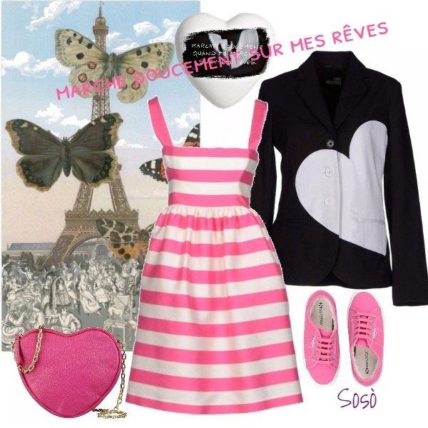 Outfit Marche doucement sur mes rêves!