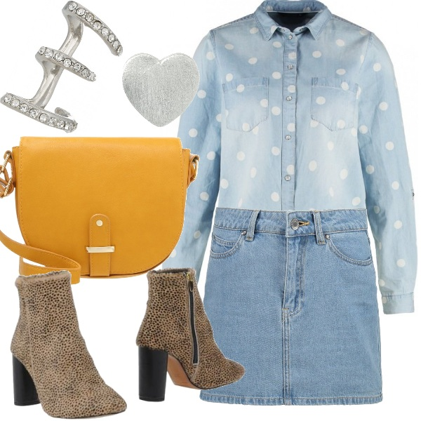 Outfit Total jeans