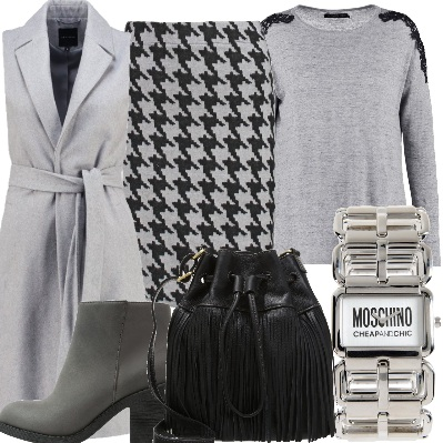 Outfit Total gray