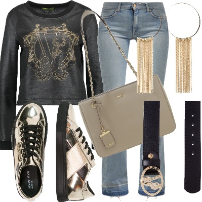 Outfit Sporty luminoso