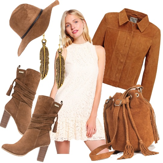 Outfit Pomeriggio western/country