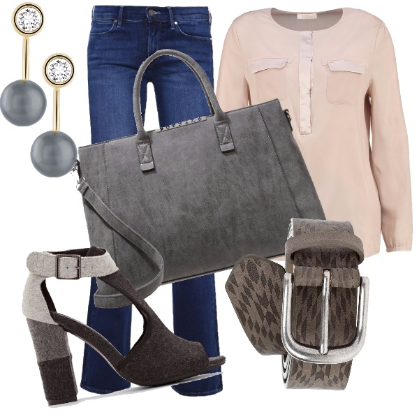 Outfit Sandalo in autunno