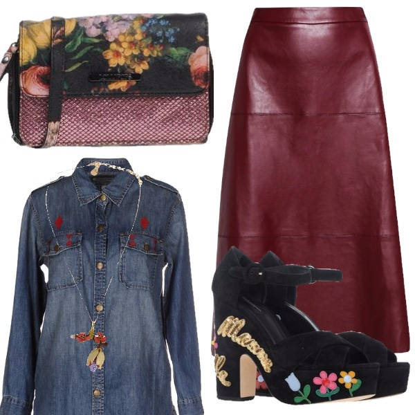 Outfit Dillo con un fiore
