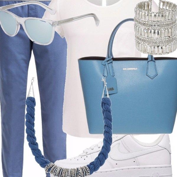 Outfit Azzurro mania!