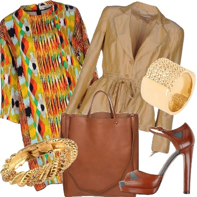 Outfit Paint dress