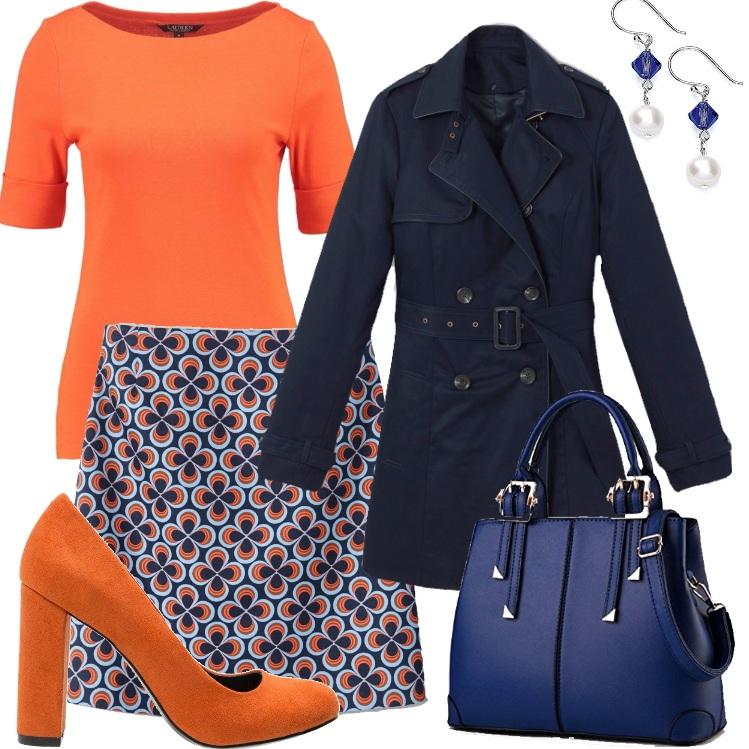 Outfit Colore e praticità