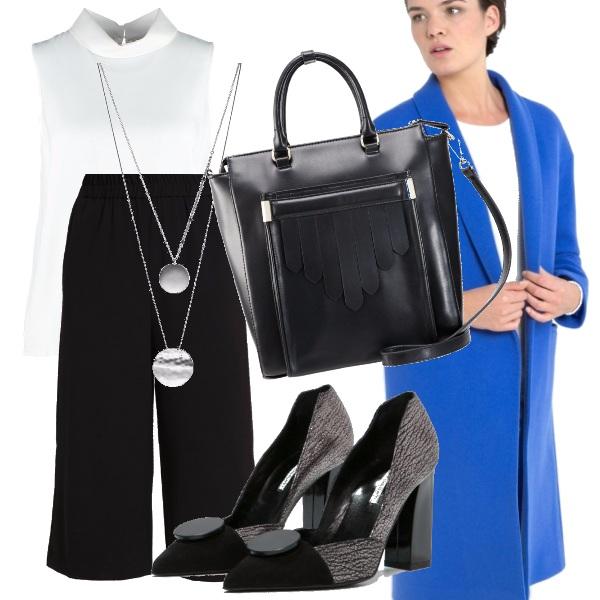 Outfit Minimal in ufficio