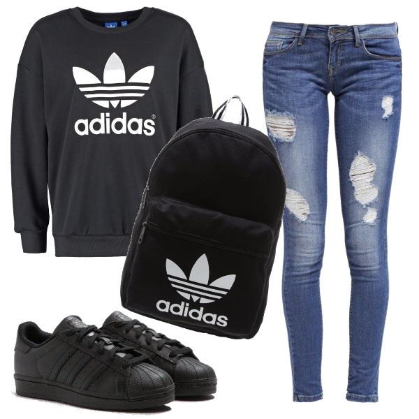 Outfit Preparati per la scuola