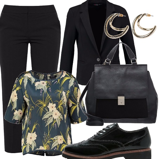 Outfit Speaker al convegno