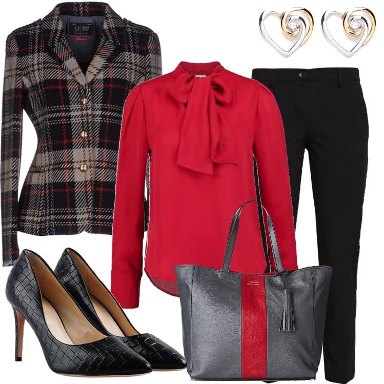 Outfit Ore 11 riunione in ufficio