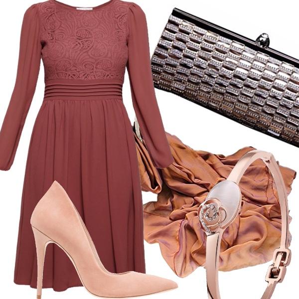 Outfit Semplice cerimonia in autunno