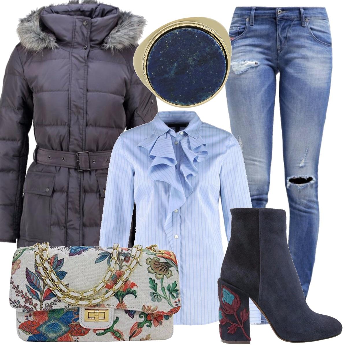 Outfit Fiori d'ottobre