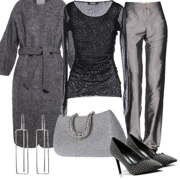 Outfit Elegante in pantaloni