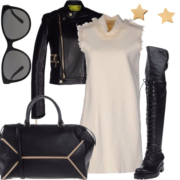 Outfit Gold stars