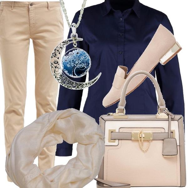 Outfit Blu e luna