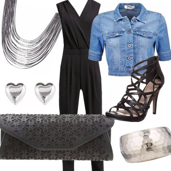 Outfit Black lady