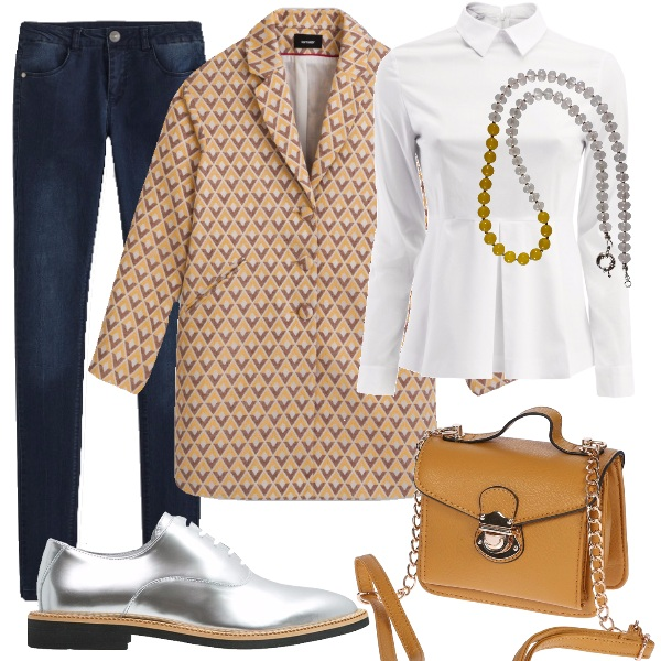 Outfit Stringata super chic