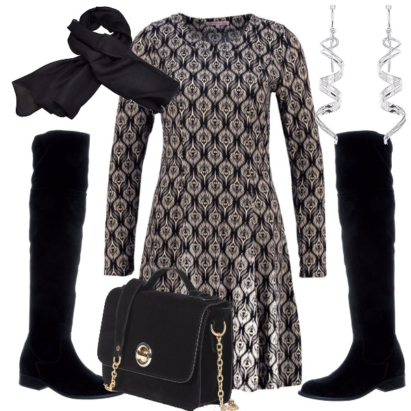 Outfit Gli stivali cuissard