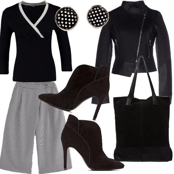 Outfit Il bianco e il nero