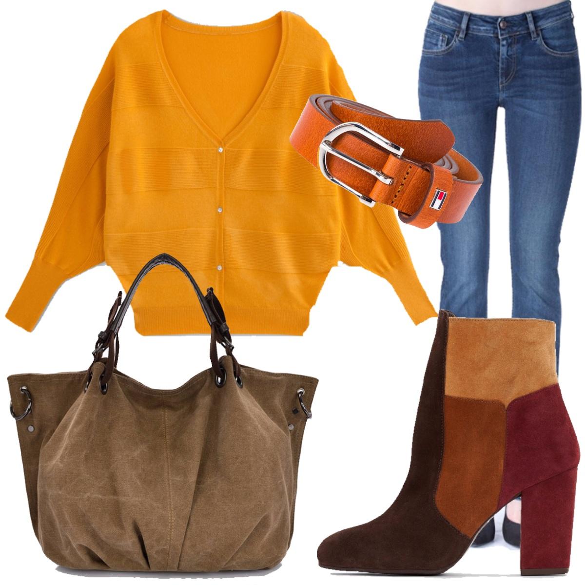 Outfit I colori caldi dell'autunno