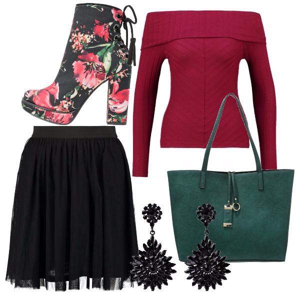 Outfit Garofano invernale