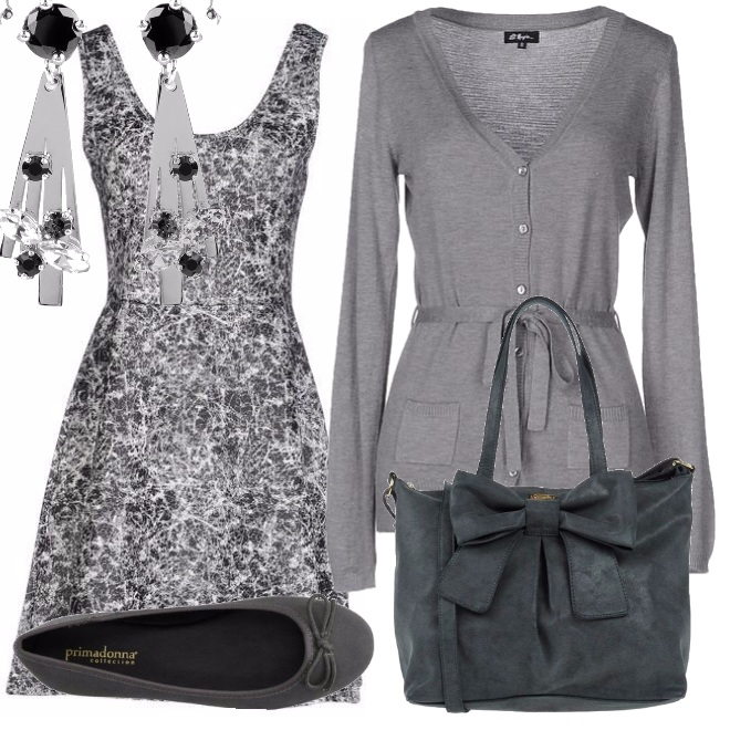 Outfit Autunno in grigio