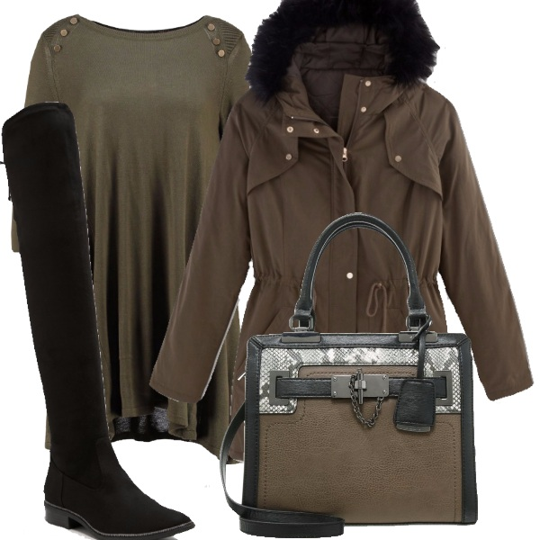 Outfit Di nuovo parka
