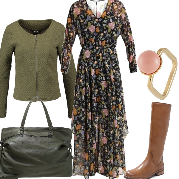 Outfit Maxi dress