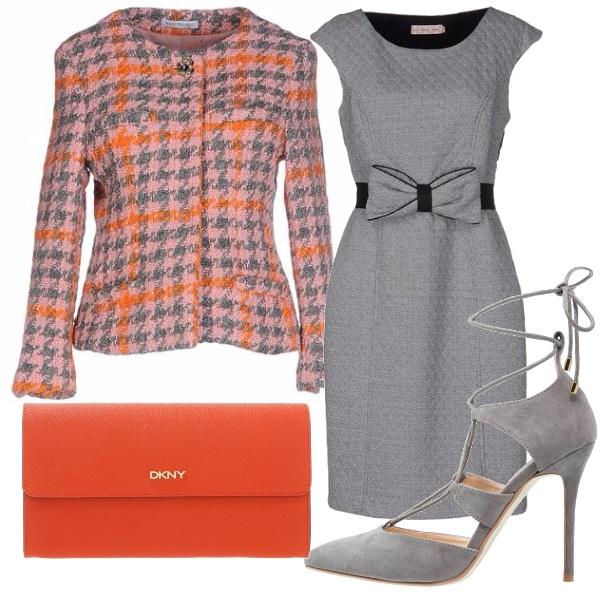Outfit Vestito col fiocco