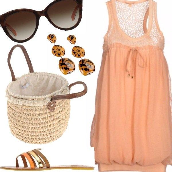 Outfit Etnica romantica