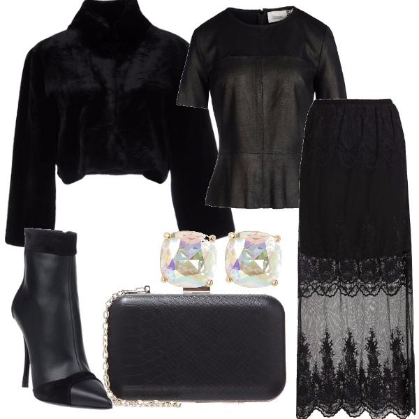 Outfit Nero assoluto