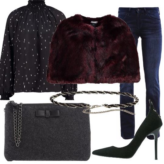 Outfit Tacco e mantella