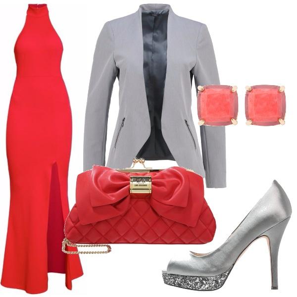 Outfit Borsa col fiocco