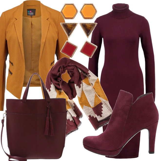 Outfit Colori d' autunno