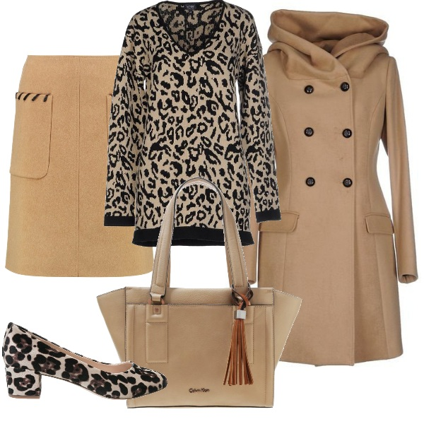 Outfit Delicato animalier