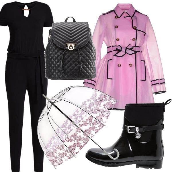 Outfit Guarda come piove