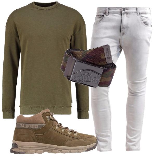 Conosciuto Verde oliva, il colore di stagione: outfit uomo Everyday per tutti  AT49
