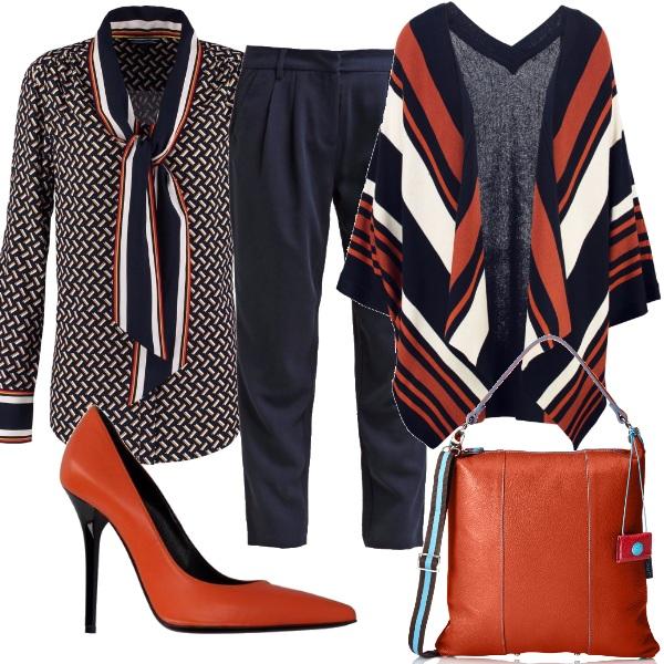 Outfit Arancione protagonista