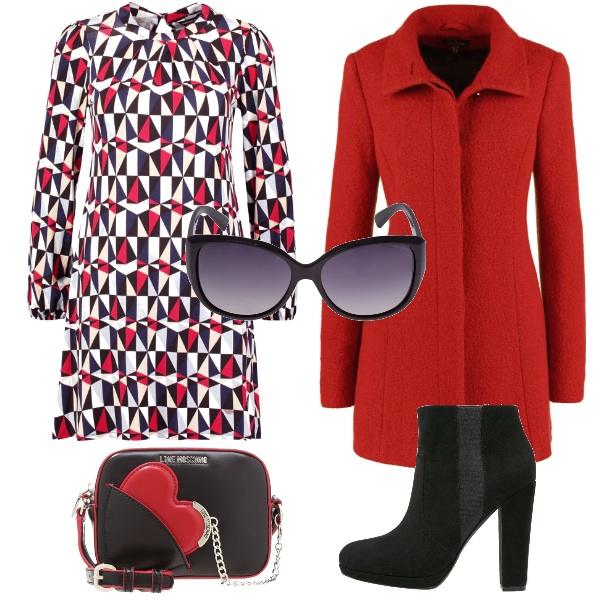 Outfit Rosso cuore