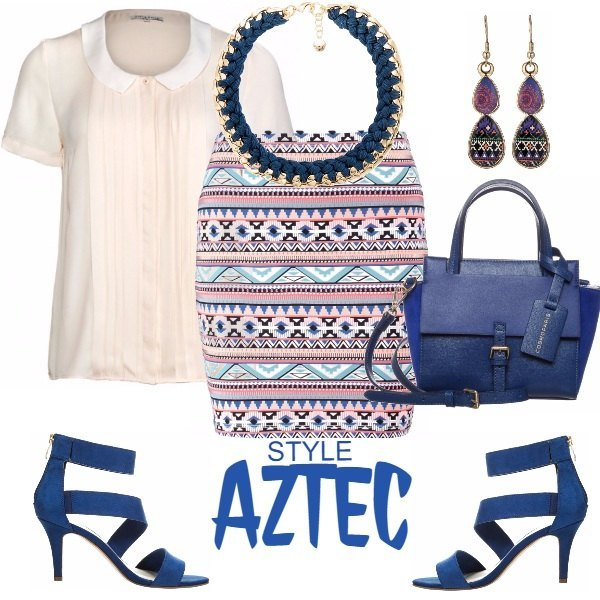 Outfit Aztec Style