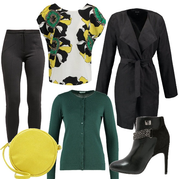 Outfit Serata lime