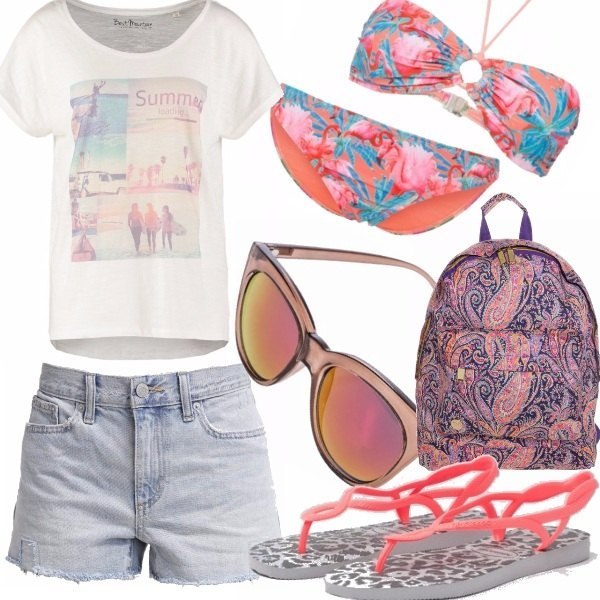 Outfit Flamingo