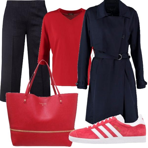 Outfit Un trench adattabile a più stili