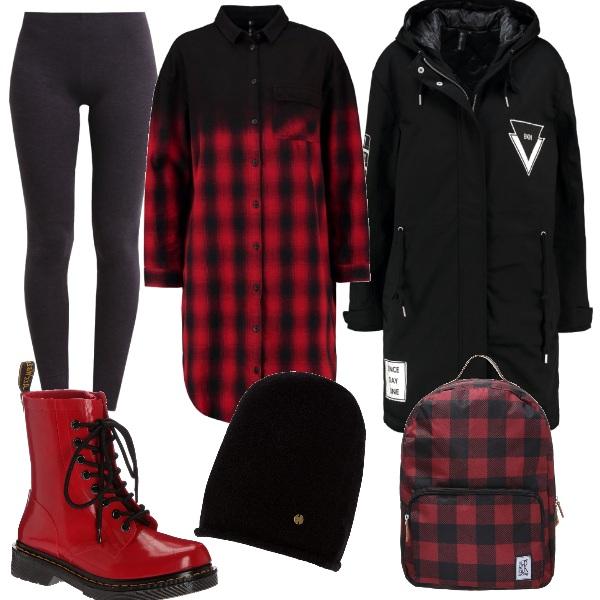 Outfit Quadri in città