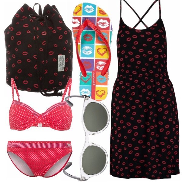 Outfit Lips & pois