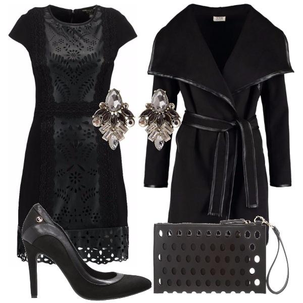 Outfit Nero traforato