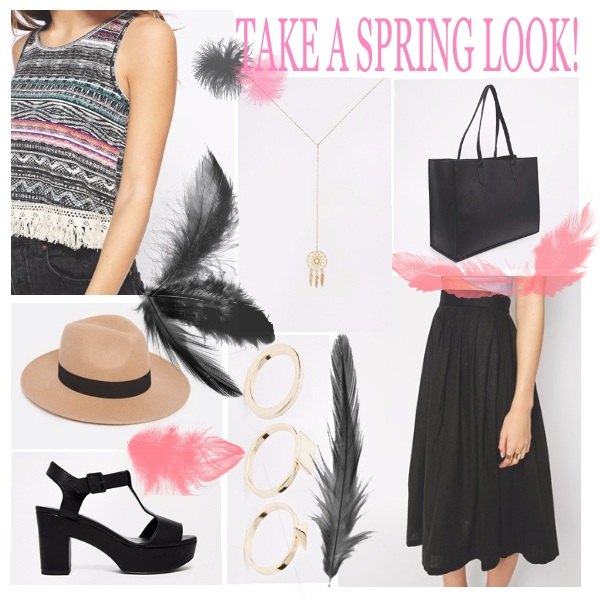 Outfit Into the spring air