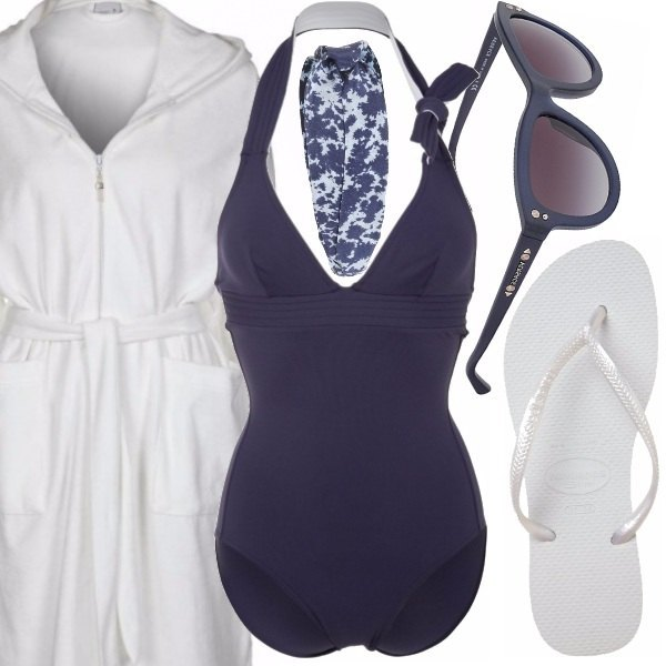 Outfit Navy & white