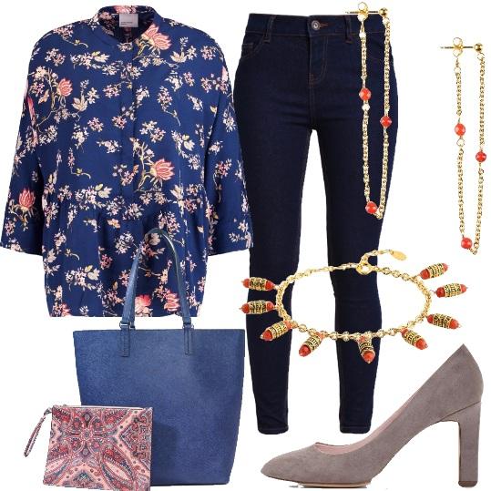 Outfit La camicia floreale